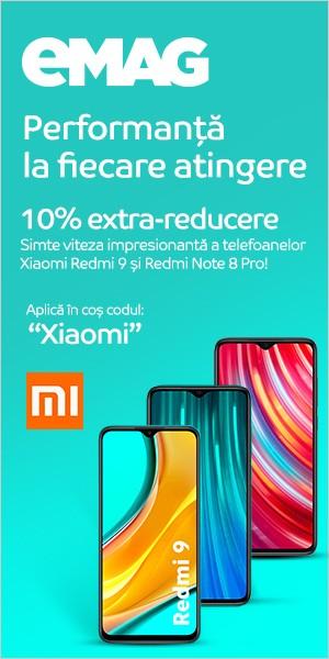 Extra reducere telefoane Xiaomi