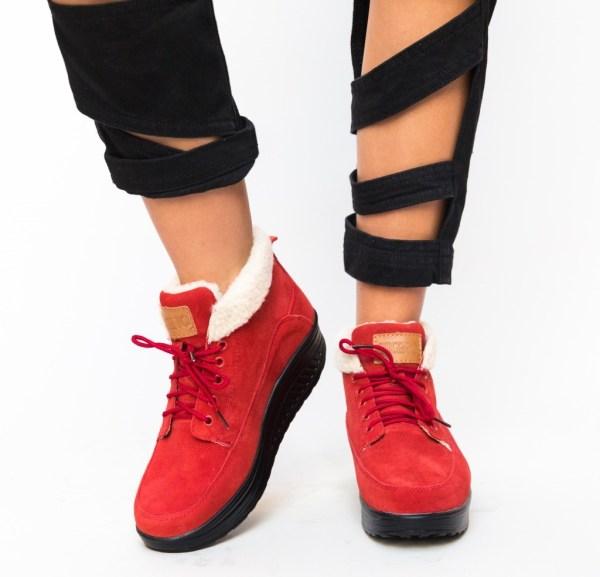 Pantofi Casual Blind Rosii
