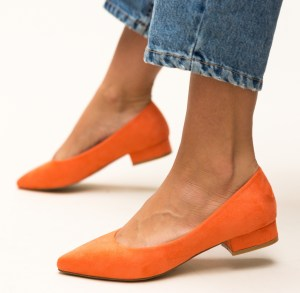 Pantofi Niam Portocalii