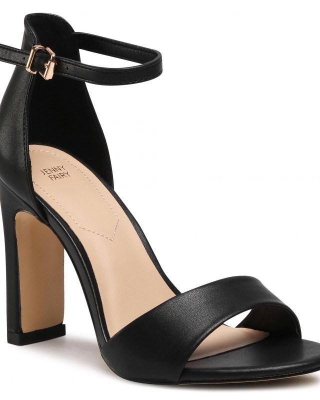 Sandale negre de zi dama Jenny Fairy