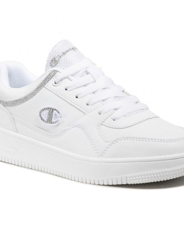 Sneakers dama Alb CHAMPION din imitatie de piele