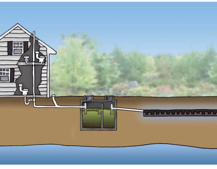 Septic tank service and repairs