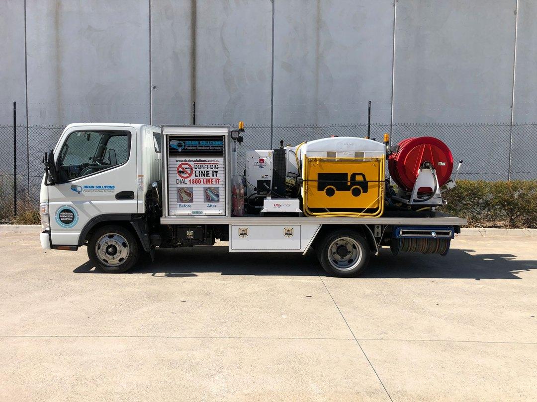 High Pressure Water Jet Truck Toorak