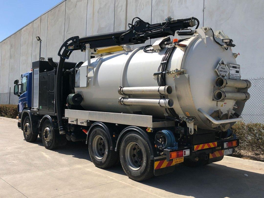 Hydro Excavation Truck Essendon