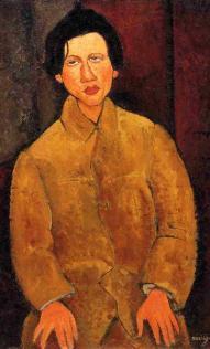 Ressam Amedeo Modigliani'den Chaim Soutine portresi