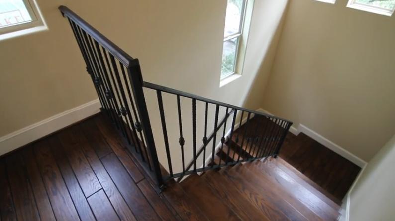 stairways - woodflooring