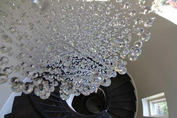 Stairwell - The Villas on Grustark