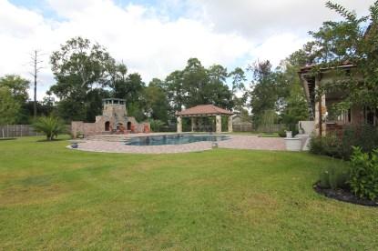 Pool and Gazbo Shenandoah, TX