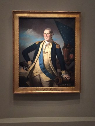 George Washington in his General's uniform. Photo credit: Jack Feldman