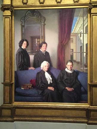 The Four Justices by Nelson Shanks. Photo credit: Jack Feldman