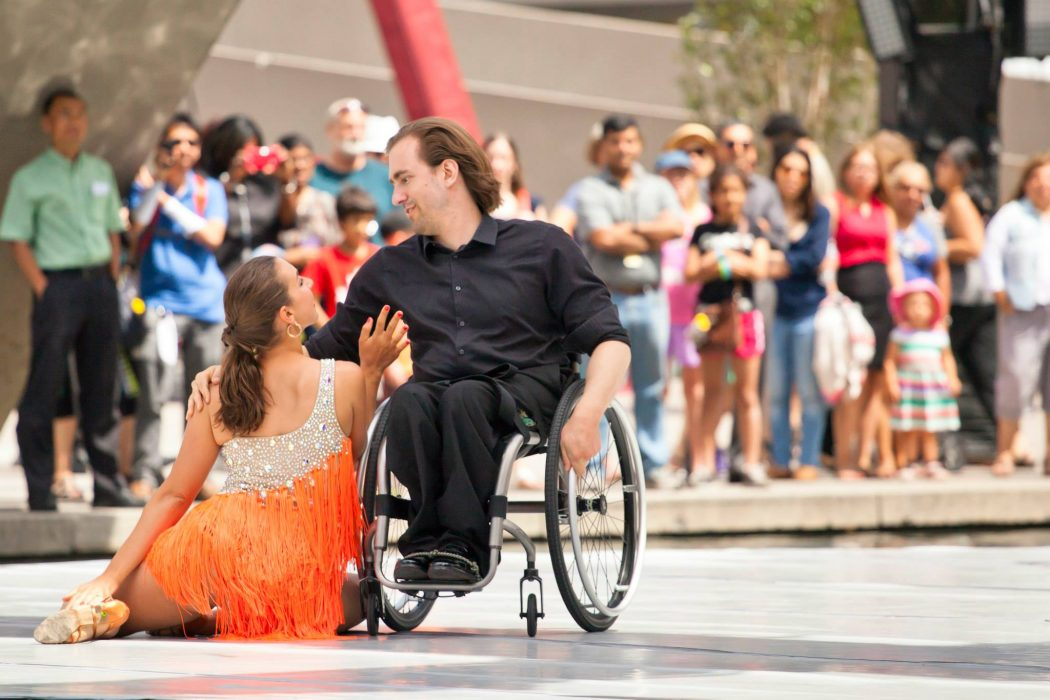 wheelchair drake chair covers hire surrey dancing reinventing the art of dance magazine photo courtesy american dancewheels foundation