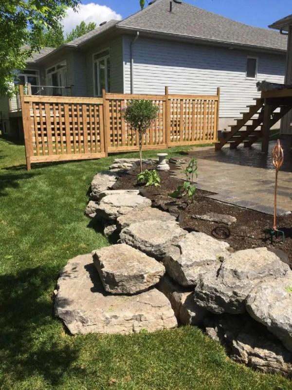 landscaping work - drake's