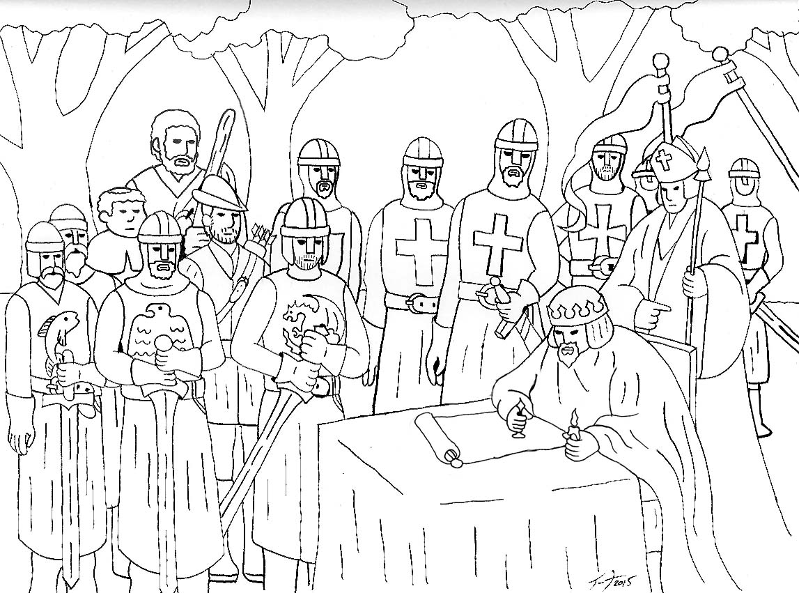 List of Synonyms and Antonyms of the Word: magna carta drawing
