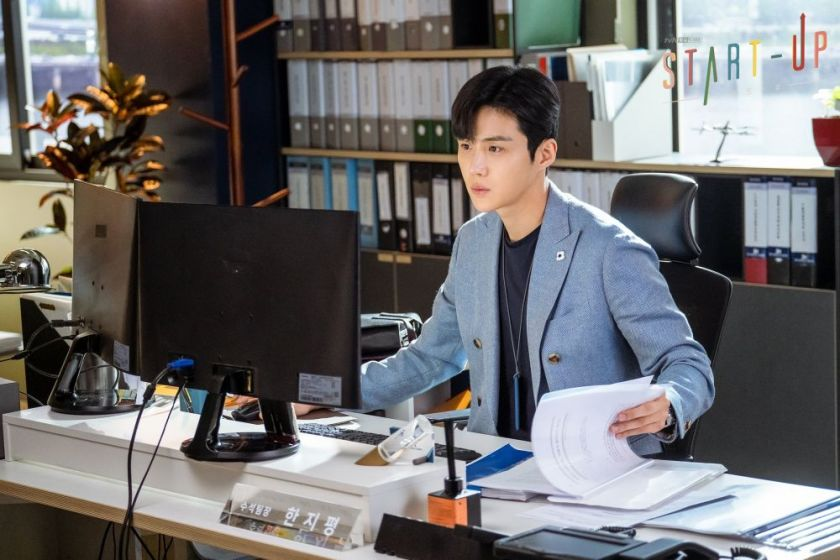 Kim Seon-ho dalam start up