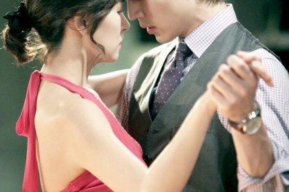 Lee Dong Wook & Kim Sun A berdansa tango