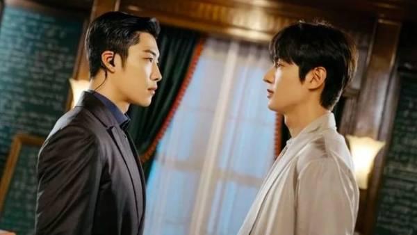 Jo Young dan Lee Gon dalam TKEM