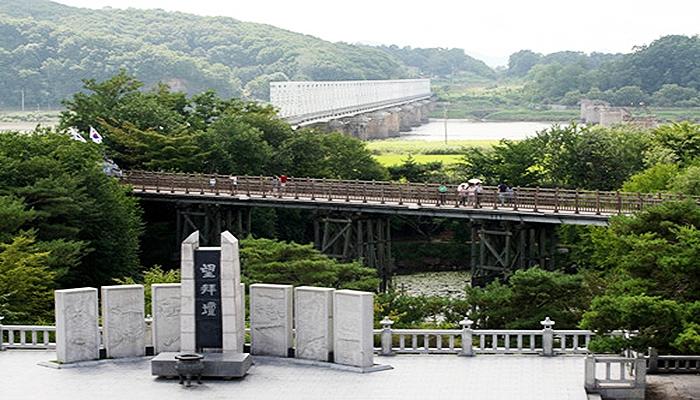 Jembatan Perdamaian, wisata korea DMZ