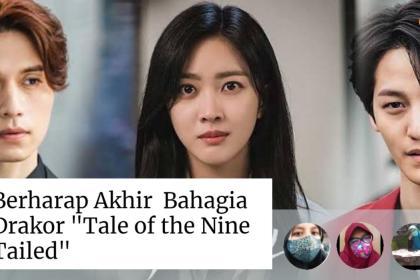 lee dong wook, jo bo ah dan kim bum dalam tale of the nine tailed