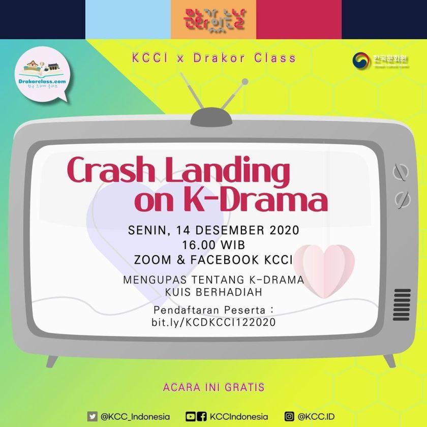 flyer acara kcci dan drakorclass