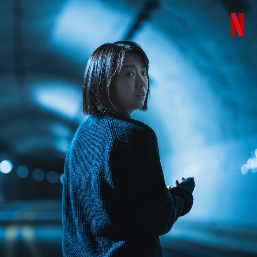 Tatapan Kim So Yeon ketika menyadari apa yang terjadi  Sumber gambar: Netflix