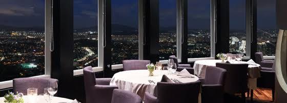 Restaurant di namsan tower.