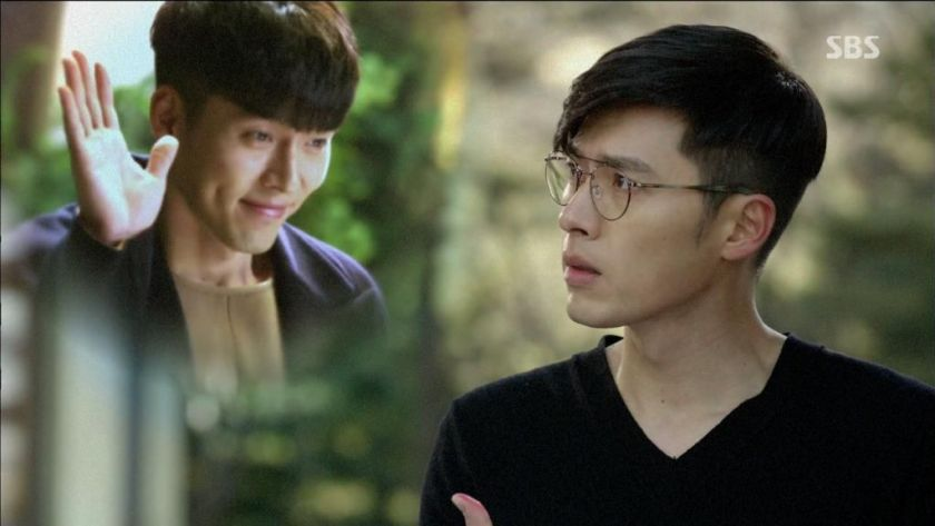 hyunbin sebagai robin dan mr. gu