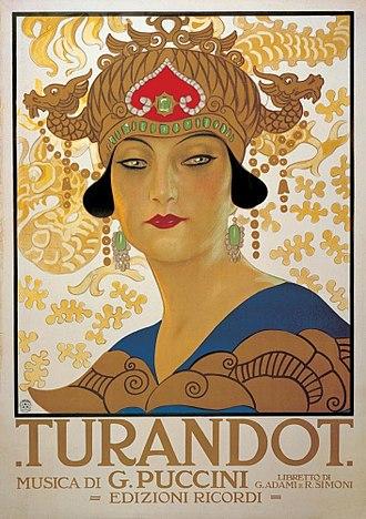 "poster opera ""Turandot"""