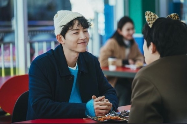 song jong ki dan kim sung cheol dalam vincenzo