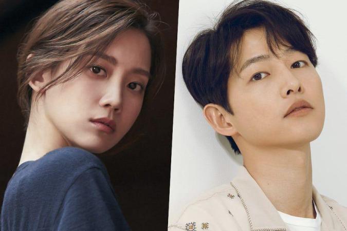 "Berpasangan dengan Song Jong Ki dalam drama ""Chaebol Family's Youngest Son"" (sumber: Soompi)"