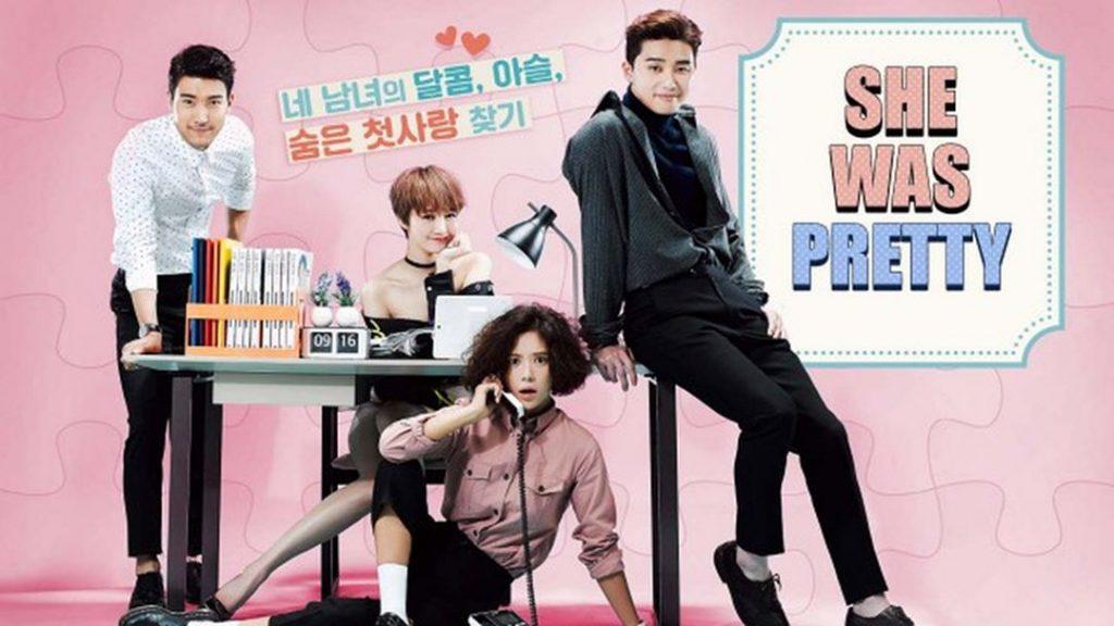 Poster K Drama She Was Pretty