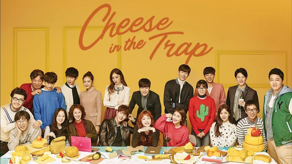 Poster 2 K Drama Cheese in the Trap