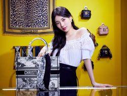 Suzy Tampil Mempesona dengan Memakai Koleksi Karya Maria Grazia Chiuri di Pop-up Store DIOR (Suzy X DIOR)