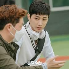 Jin Young at Police University Drama