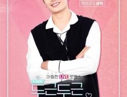 Web Drama Heartbeat Broadcasting Accident Bagikan Poster untuk Karakter Utama