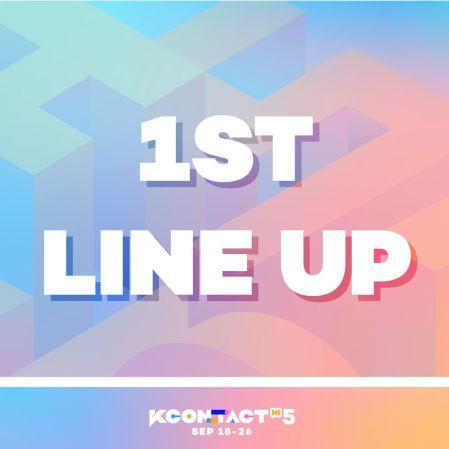 KCONTACT HI 5's 1st LINEUP