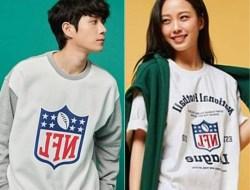Aktor Korea Kim Young Dae dan Aktris Go Minsi Secara Resmi Terpilih Sebagai Duta Brand Pakaian Amerika NFL (National Football League)