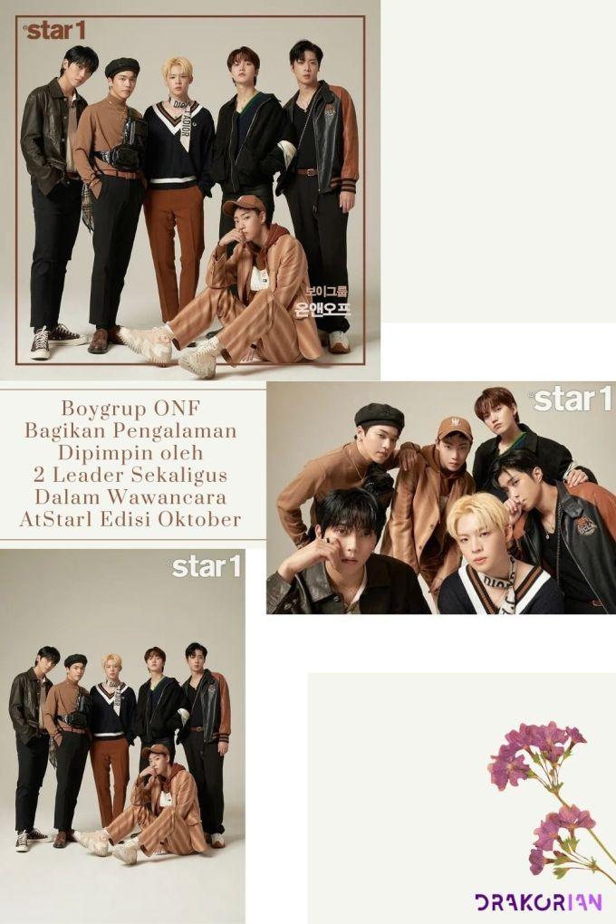 Boygrup ONF Bagikan Pengalaman Dipimpin oleh 2 Leader Sekaligus Dalam Wawancara AtStar1 Edisi Oktober