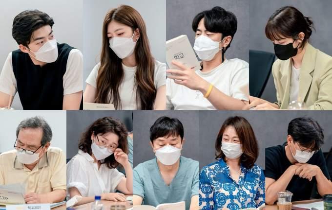 Foto Pembacaan Naskah Pemeran Drama School 2021
