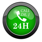 Green Call Dr J Now Button H