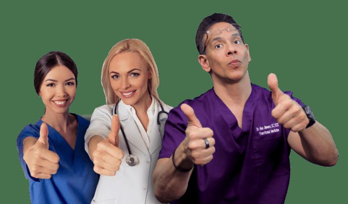 Doctors Welcome Patients