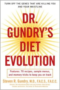 Dr. Gundry Diet Evolution book cover