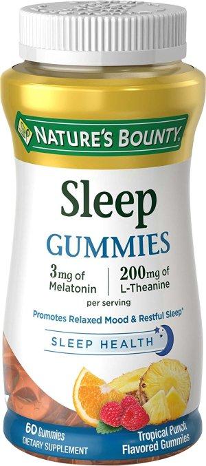 Nature's Bounty Melatonin gummies