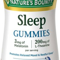 Nature's Bounty Melatonin gummies
