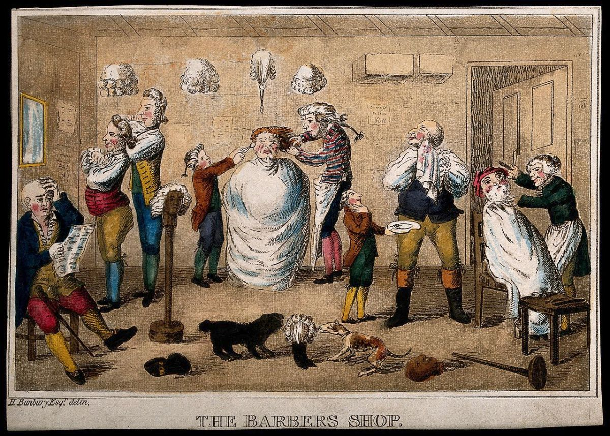 Barbers and Advertising in the 18th century  Dr Alun Withey