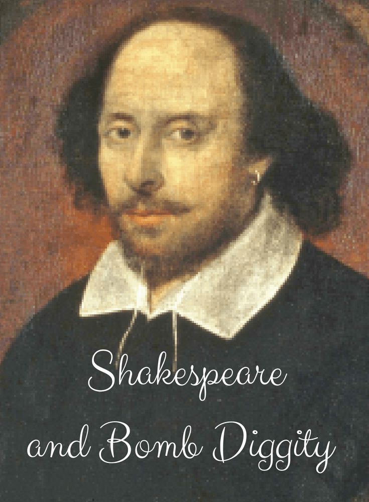 Shakespeare's Language Bomb Diggity