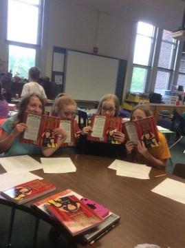 Ridgeway Elementary book group