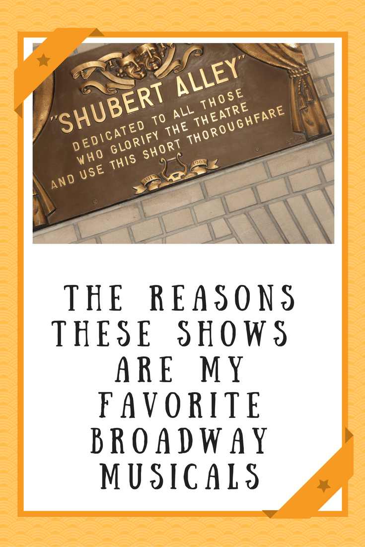 favorite Broadway musicals