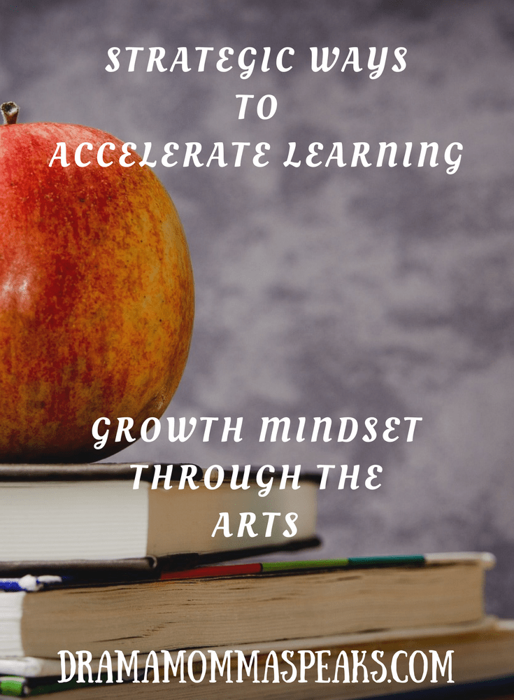 Strategic Ways to Accelerate Learning:  Growth Mindset through the Arts