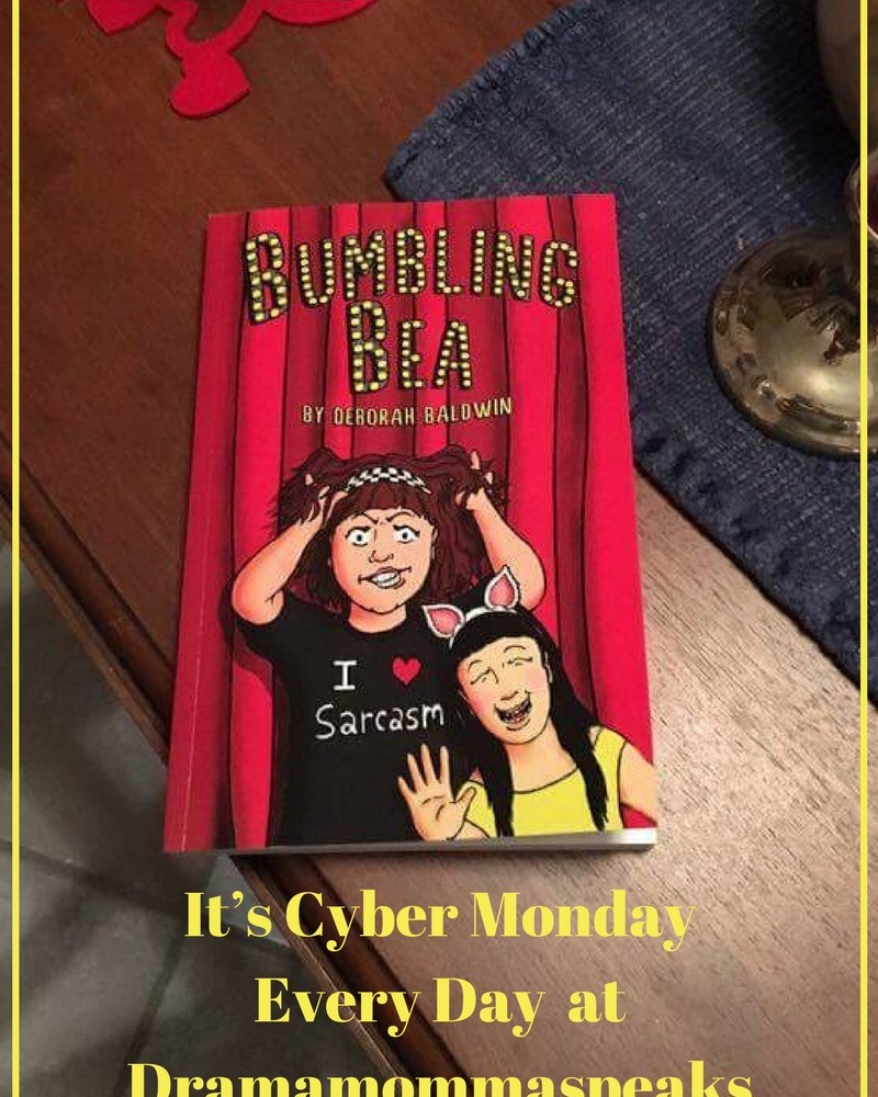 It's Cyber Monday Every Day at Dramamommaspeaks.com
