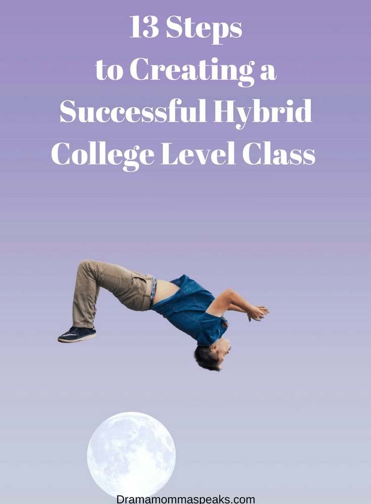 Thirteen Days to Creating a Successful Hybrid College Class Day One